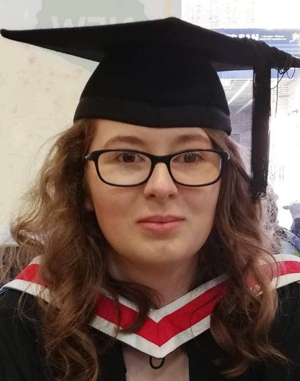 Nicole at Graduation